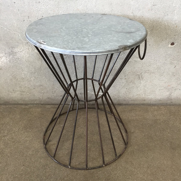 Vintage Wire Table