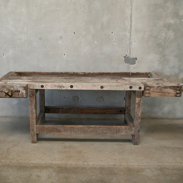 Vintage Garden Work Bench / Potting table