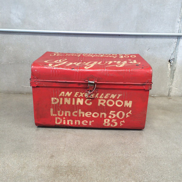 Vintage Red AC Trunk