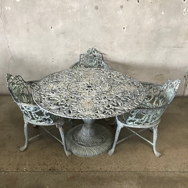 Vintage Antique Patio Set