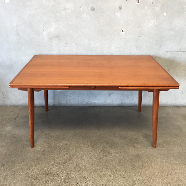 Danish Modern Hans J. Wegner Teak Dining Table