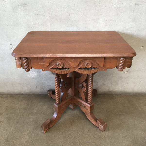 Vintage East Lake Entry Table