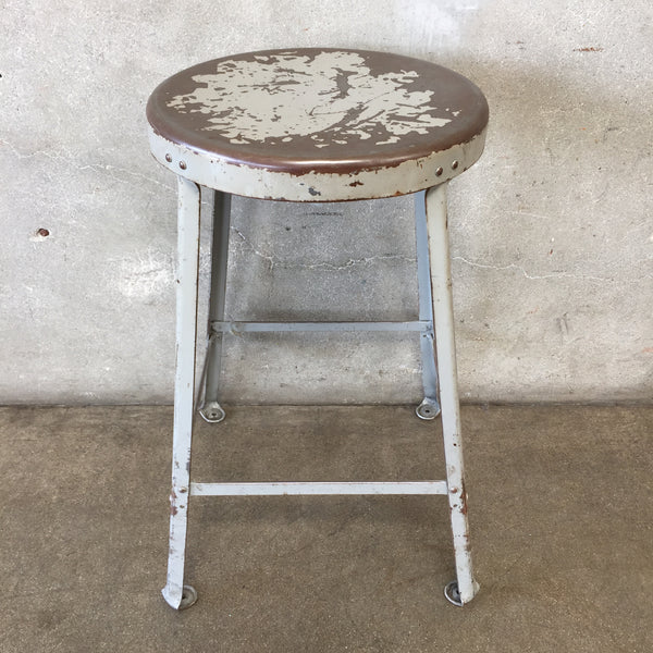 Vintage Industrial Stool - HOLD