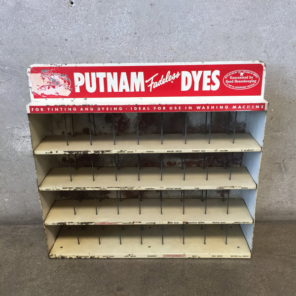 Putnam Dye Tin Display