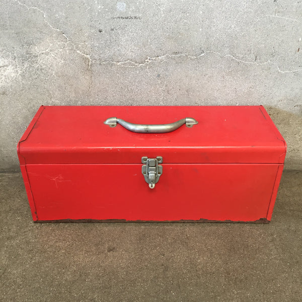 Red Industrial Tool Box