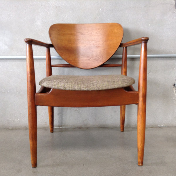 Danish Mid Century Wooden Chair