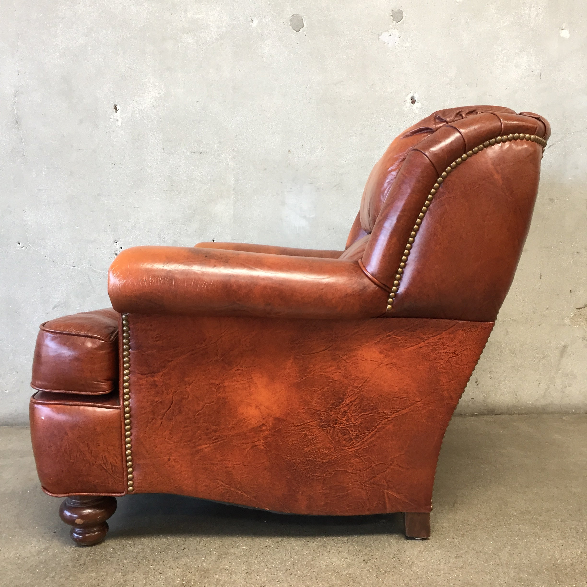1970S Leather Club Chair