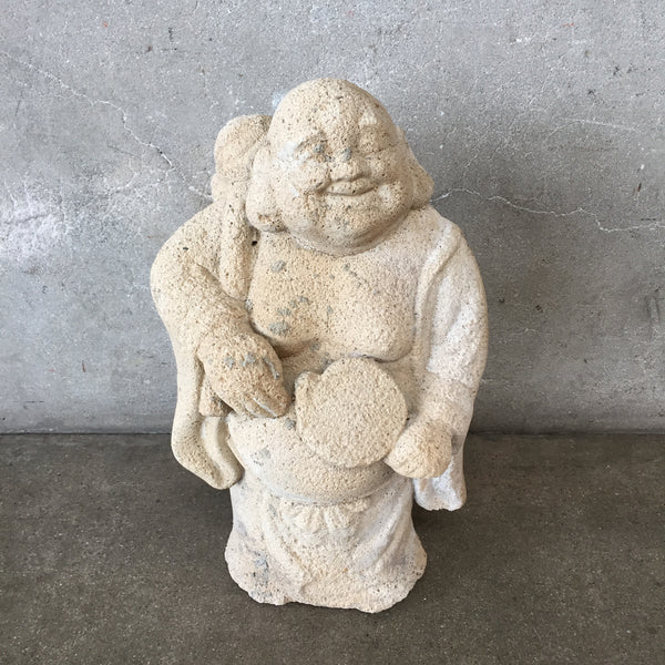 Happy Concrete Buddha