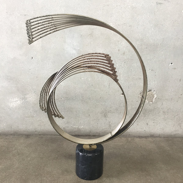 Mid Century Sculpture by Curtis Jere