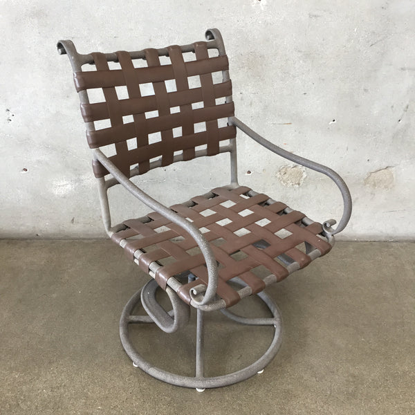 Mid Century Brown Jordan Patio Chairs & Table