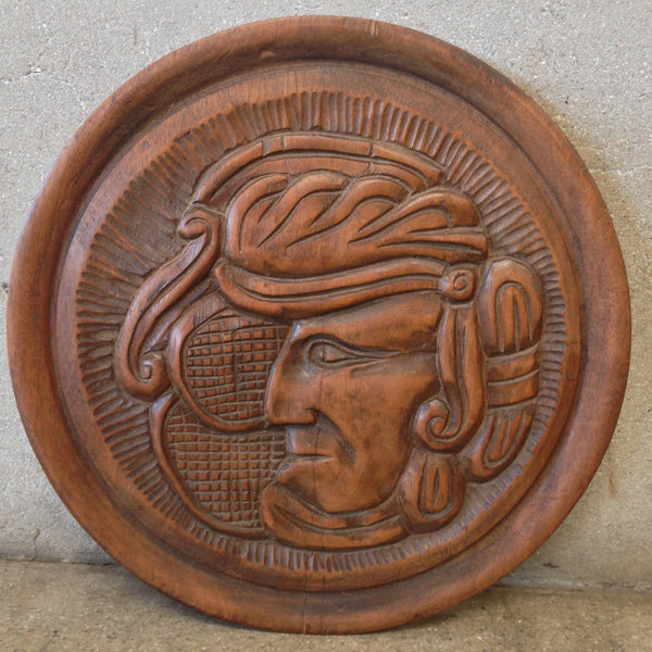 1950's Hand Carved Wall Art