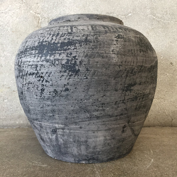 Vintage Black & Grey Pot