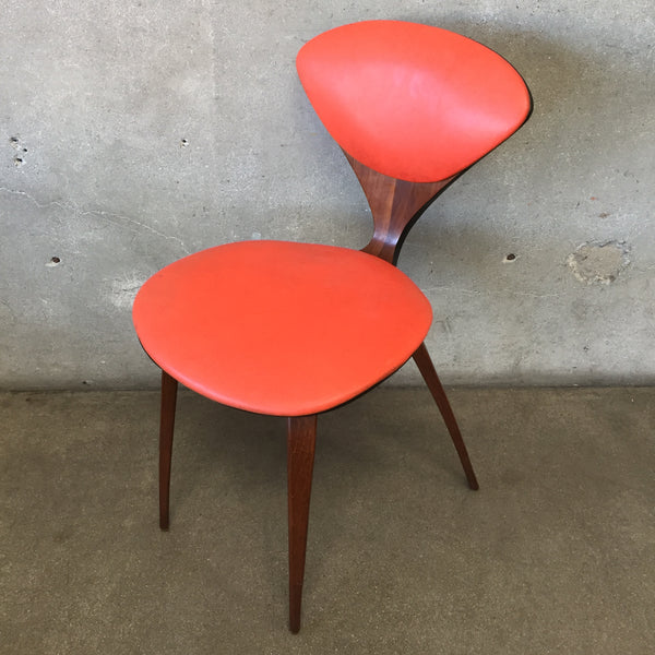 Mid Century Modern Norman Cherner For Plycraft Plywood Side Chair