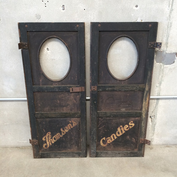 Late 1800's Delivery Cart Doors
