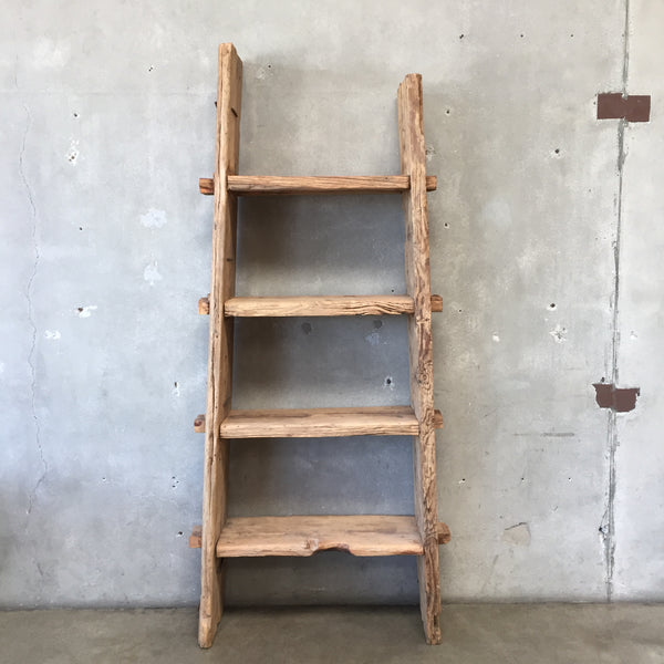 Vintage Old Wood Bookcase-HOLD