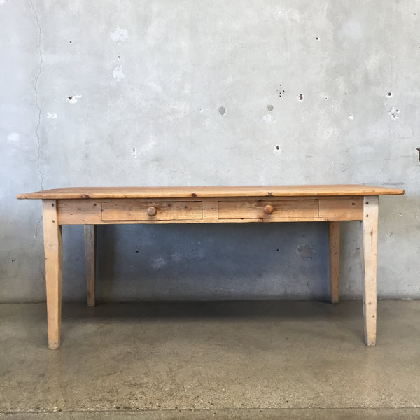 Rustic Library Table - HOLD