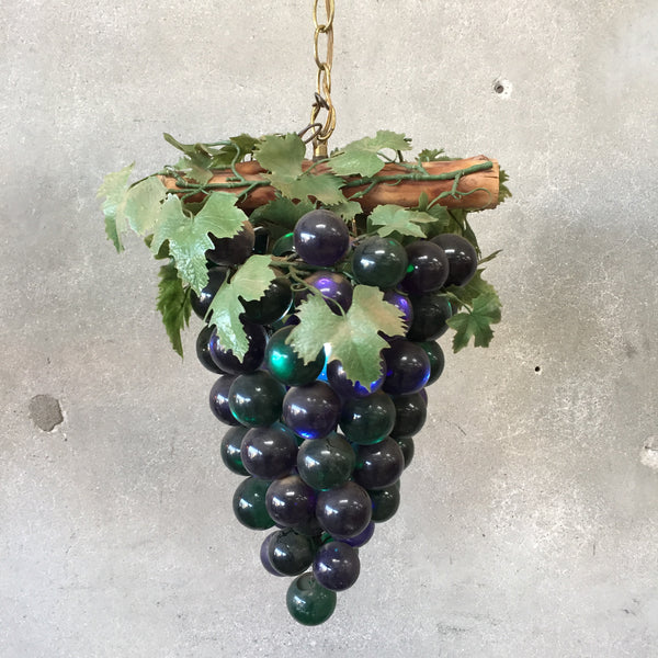 Mid Century Modern Grapes Swag Lamp
