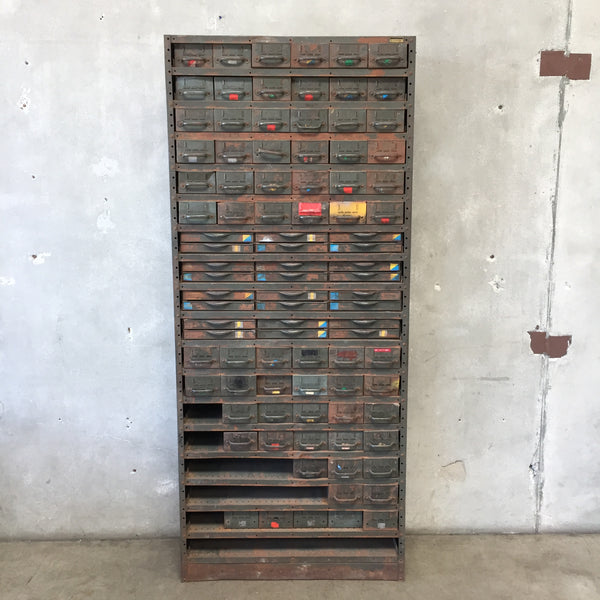 Vintage Industrial Catalog Locker