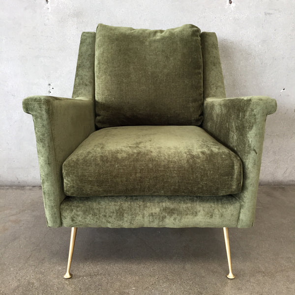 "Mid Century Style ""Carlo"" West Elm Chair"