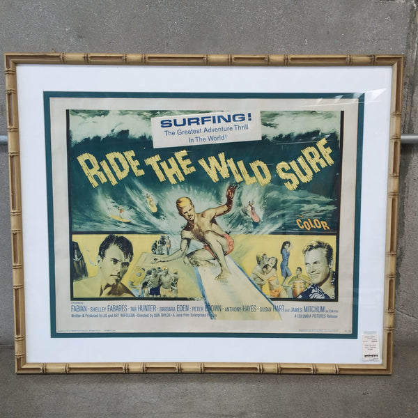 """Ride The Wild Surf"" Poster"