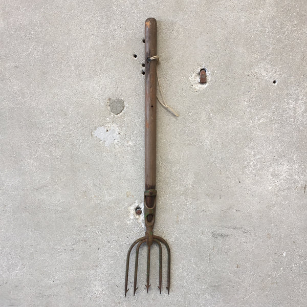 Vintage Cast Iron Harpoon