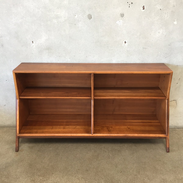 Mid Century Modern Bookshelf By Kipp Stewart for Drexel Declaration