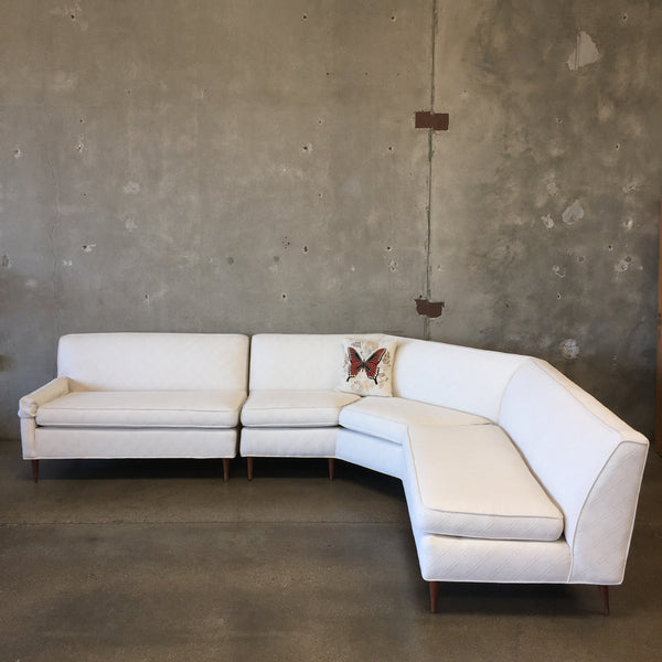 Vintage Mid Century Sectional Sofa - HOLD
