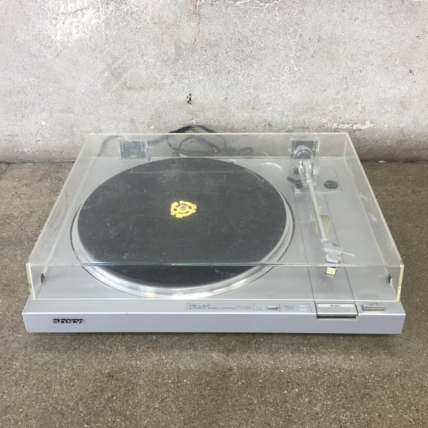 Sony PSLX2 Direct Drive Turntable