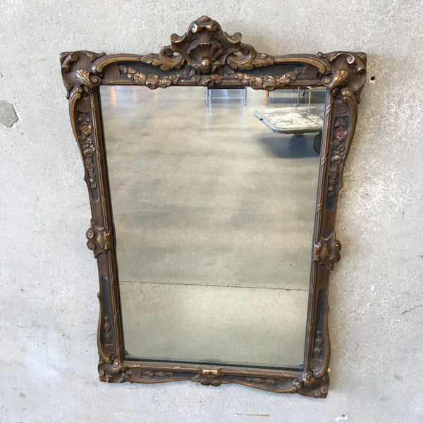 Vintage Carved Frame Mirror