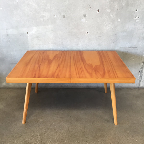 1950's Maple Dining Table with Leafs