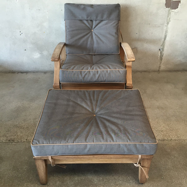 Outdoor Rocking Chair & Ottoman