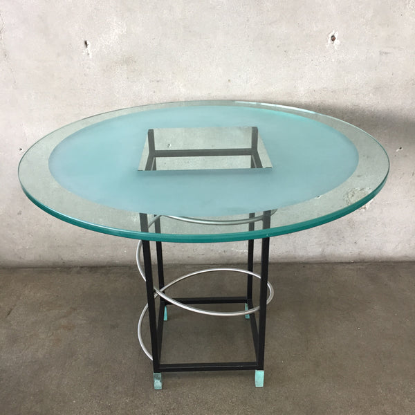 Vintage Post Modern Dining Table by James Rosen