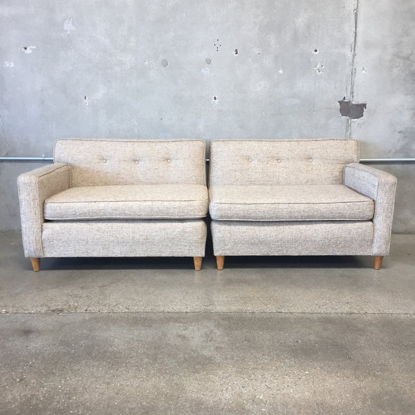Mid Century 2 Piece Couch