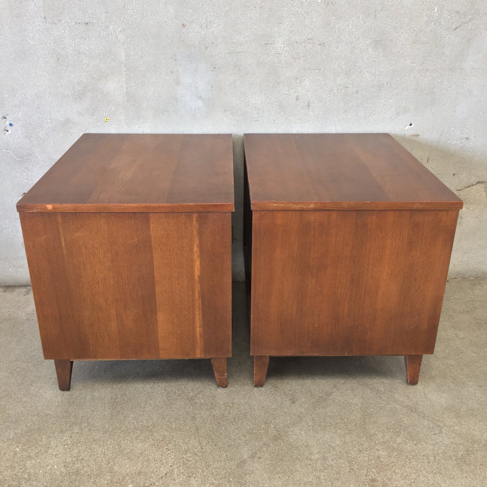Pair of Vintage Mid Century Broyhill Brasilia Night Stands