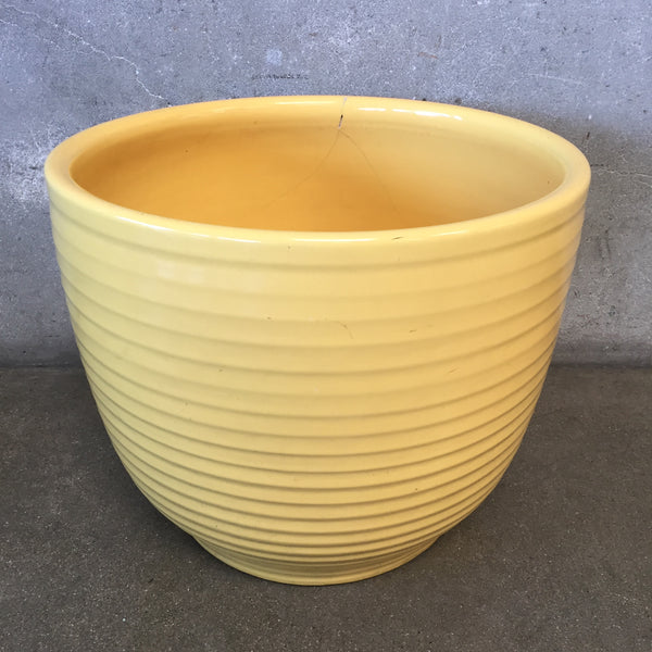 Bauer Jardiniere - Yellow (as is)