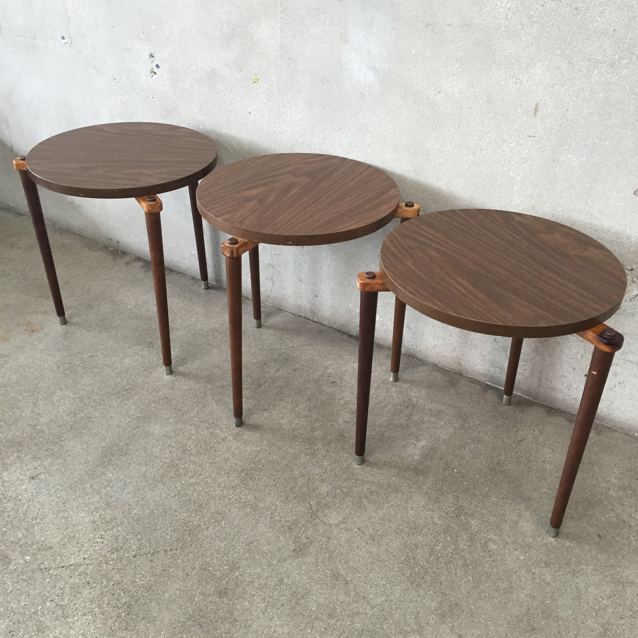 mid century modern stackable tables . mid century modern stackable tables – urbanamericana