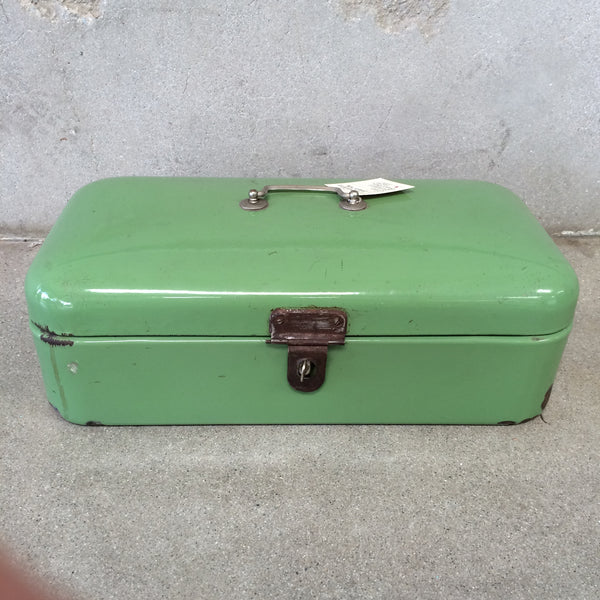 Vintage European Bread Box