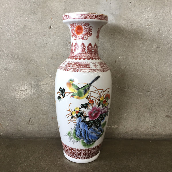 Large Porcelain Flower Vase