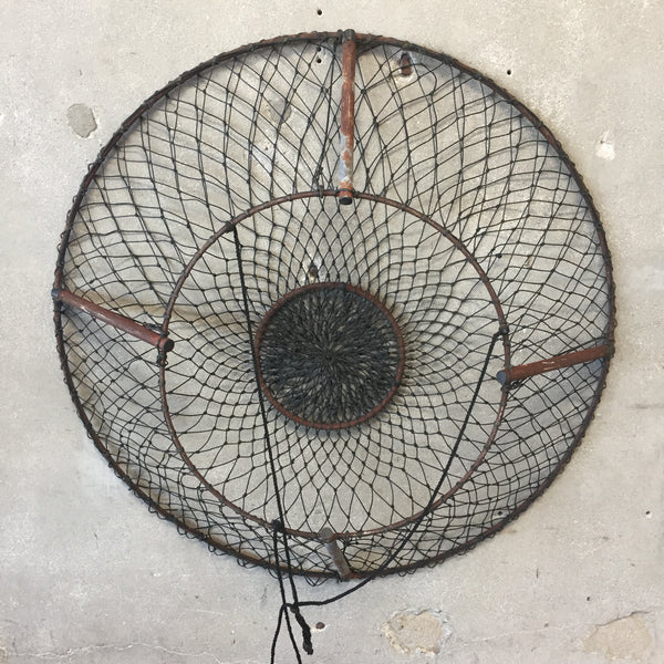 Wire Crab Fishing Basket