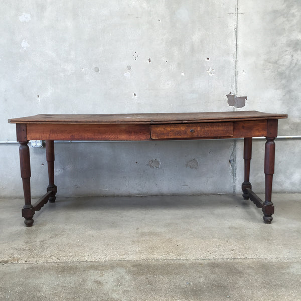 Early 19th Century French Harvest / Drapers Table