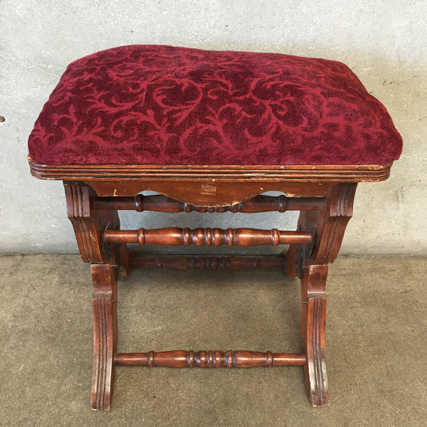 Late 1800's Antique Foot Stool