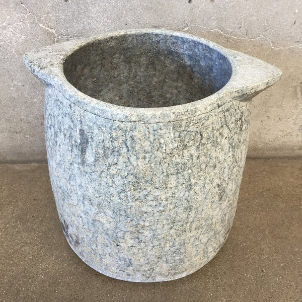 Large Soap Stone Vessel