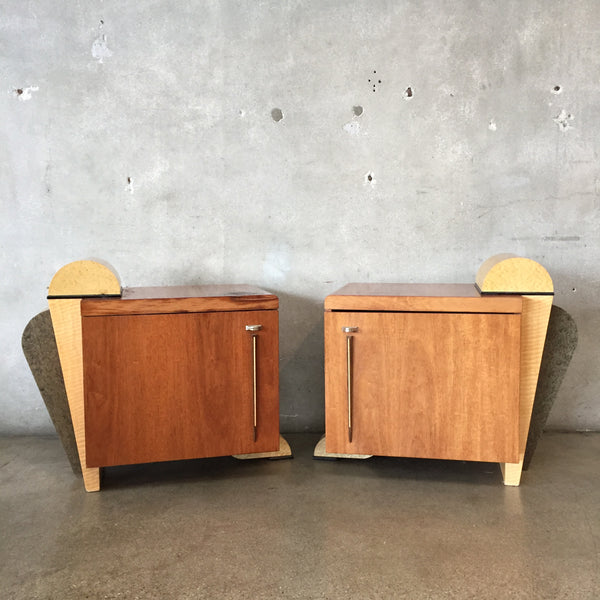 Pair of Vintage Art Deco Nightstands