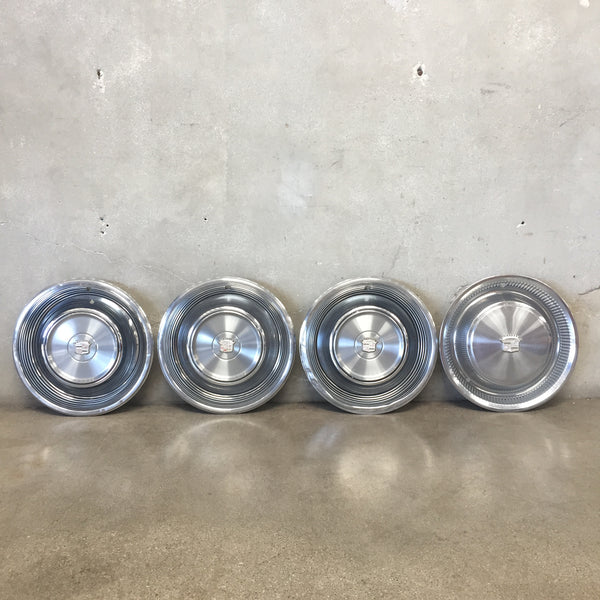 Set of Cadillac Hubcaps