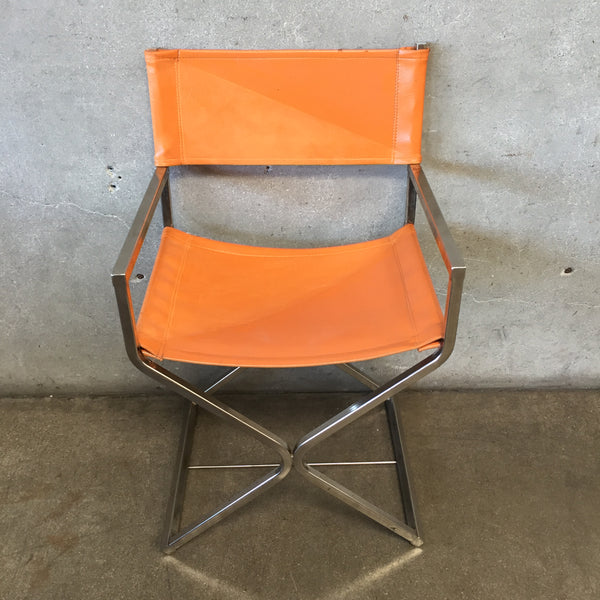 1960'S Robert Kjer Jakobsen Steel Director's Chair