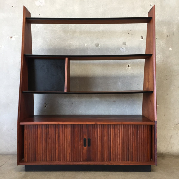 Vintage Mid Century Modern Wall Unit By Dillingham