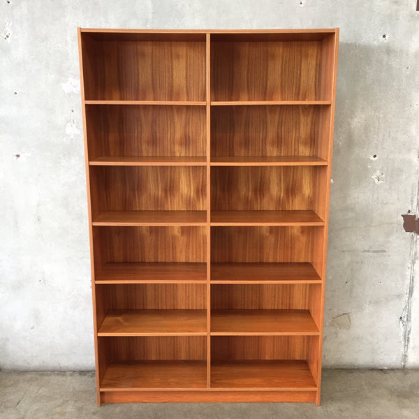 Mid Century Teak Danish Wall Unit