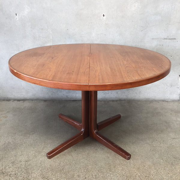 Danish Modern Dining Leaf Table by Vejle Stole