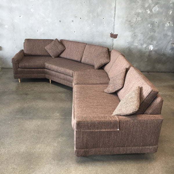 Vintage Mid Century Sectional Sofa