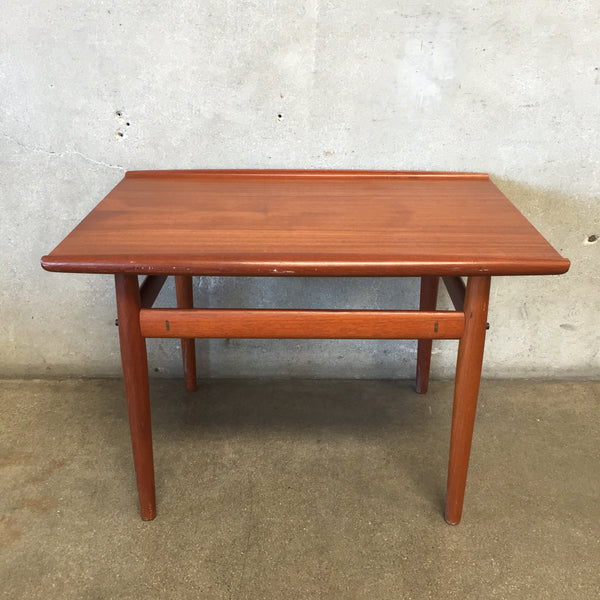 Mid Century Danish Side Table by Glostrup Mobel Fabrik